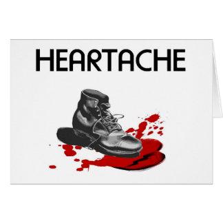 Heartache Greeting Card