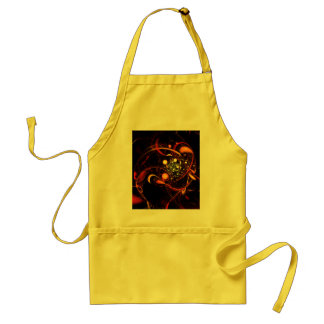 Heartbeat Abstract Art Apron