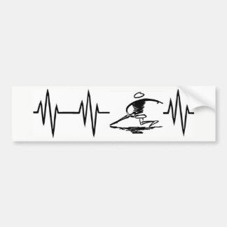 Heartbeat Disc Golf sticker