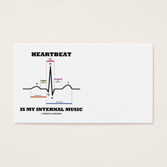 Heartbeat Is My Internal Music (ECG/EKG Rhythm) Business