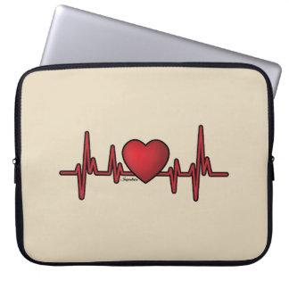 HeartBeat Laptop Computer Sleeve