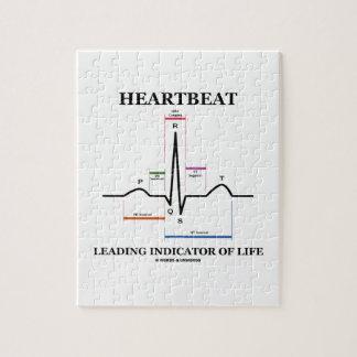 Heartbeat Leading Indicator Of Life (ECG/EKG) Jigsaw Puzzle