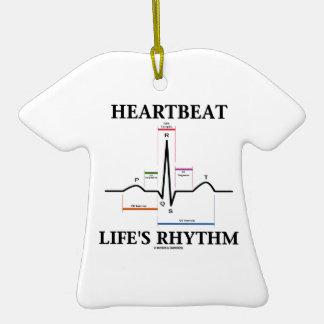 Heartbeat Life's Rhythm (ECG/EKG) Ornaments