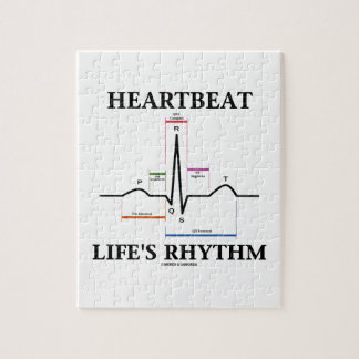 Heartbeat Life's Rhythm (ECG/EKG) Puzzle