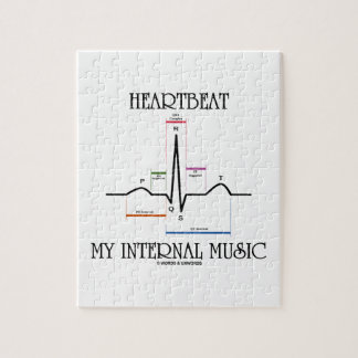 Heartbeat My Internal Music (Electrocardiogram) Puzzles