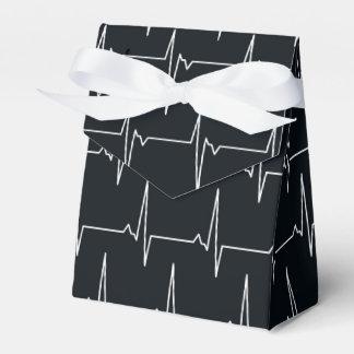 Heartbeat pattern fun nurse party gift box