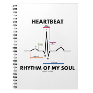 Heartbeat Rhythm Of My Soul Electrocardiogram Note Books