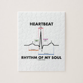 Heartbeat Rhythm Of My Soul (Electrocardiogram) Puzzles