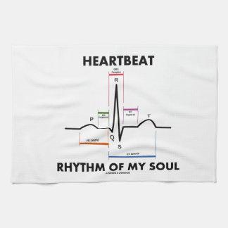 Heartbeat Rhythm Of My Soul (Electrocardiogram) Towel