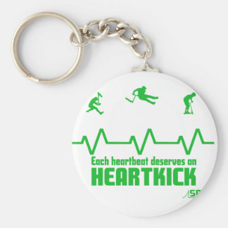 heartbeat scooter key ring