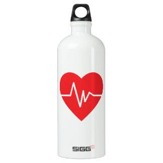 HEARTBEAT SIGG TRAVELLER 1.0L WATER BOTTLE