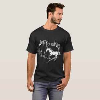 Heartbeats Arabian Horse Love Rhythm Tricks Tshirt