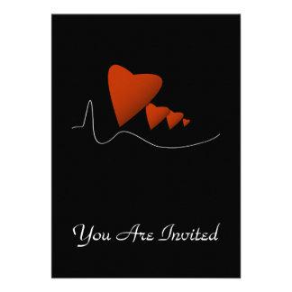 Heartbeats Custom Invites