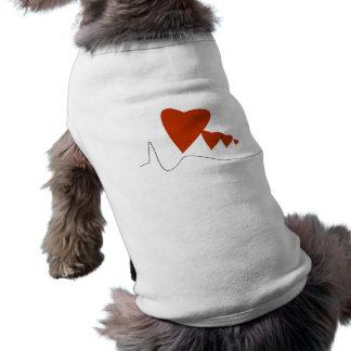Heartbeats - Pet Shirt