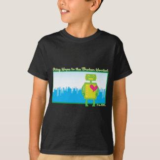 HeartBot Kid's Dark T-shirt