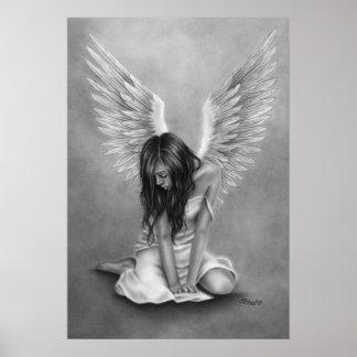Heartbroken Angel Poster