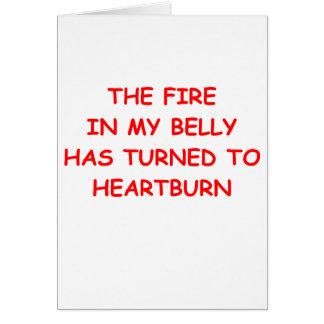 heartburn greeting card