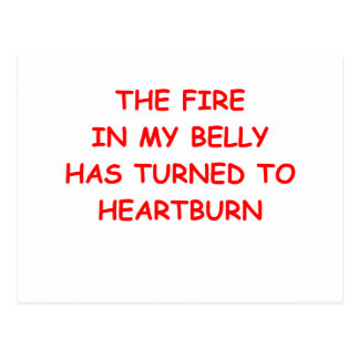 heartburn post cards