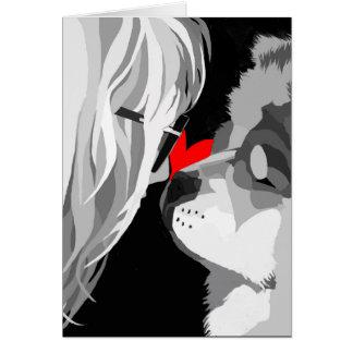 heARTdog logo card
