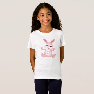 Hearted rabbit T-Shirt