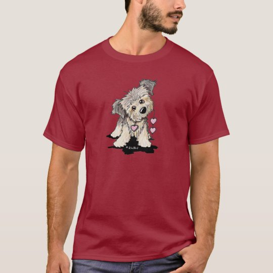 Heartfelt Border Terrier T-Shirt