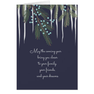 Heartfelt Christmas Illustrated Greeting Card