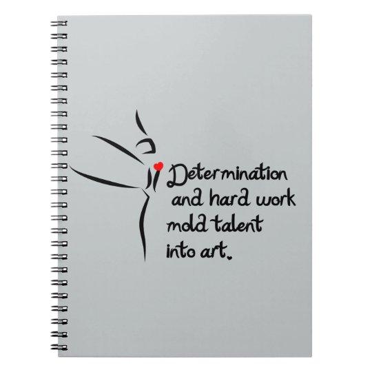 Heartfelt-Determination Dance Notebooks