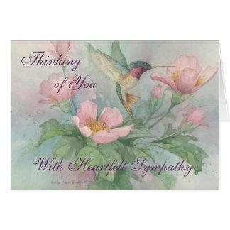 Heartfelt Sympathy - Sympathy Card