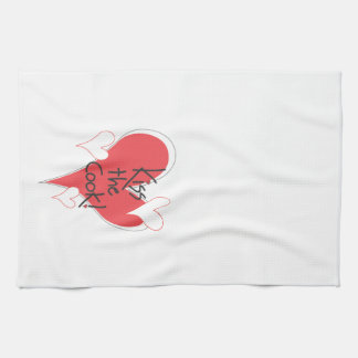 Heartful Kiss the Cook Kitchen Towel