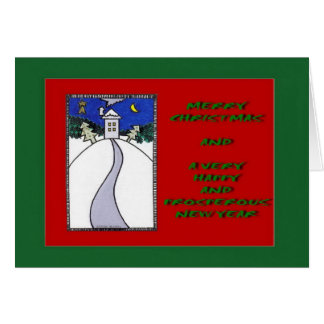 """""""Hearth And Home"""" Christmas card by Zoltan Buday"""