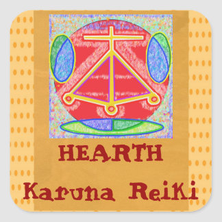 HEARTH - Love Truth Compassion Beauty Harmony Bala Sticker