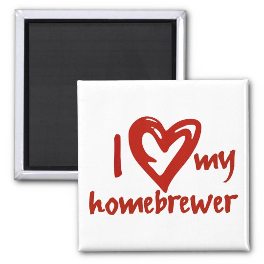 hearthomebrewer square magnet