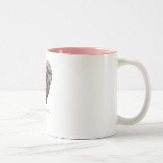 heartichoke Two-Tone coffee mug