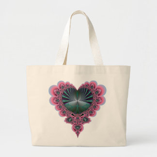 Heartistic License Large Tote Bag