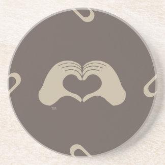 HeartMark Hands, Match Sun Sponap 2, Collectible Coaster