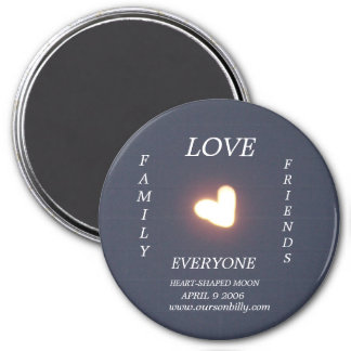 Heartpshaped magnet