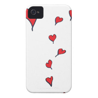 hearts 1 by tony fernandes iPhone 4 Case-Mate cases