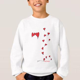 hearts 1 by tony fernandes sweatshirt