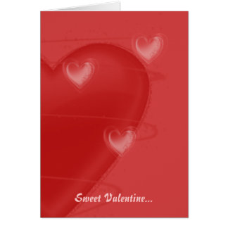 Hearts a Flutter Valentine's Card
