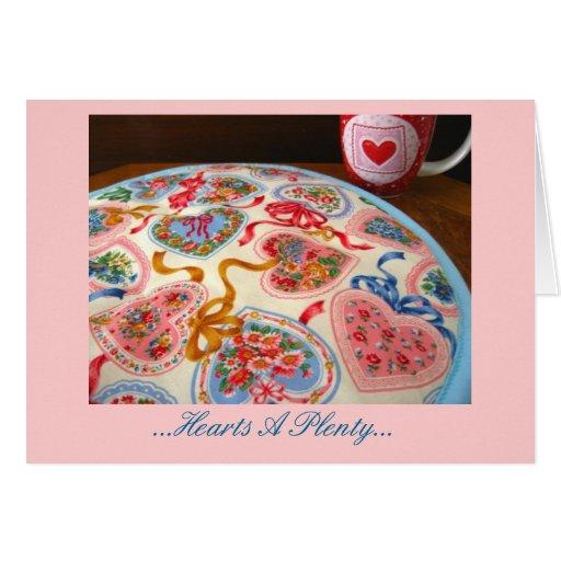 Hearts A Plenty Greeting Card
