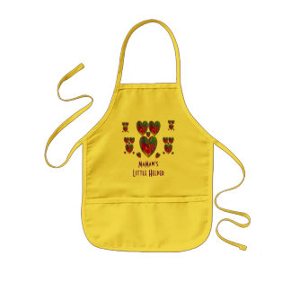 Hearts Abstract-MaMaw's Little Helper Aprons