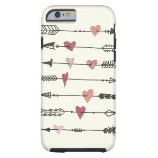 hearts and arrows tough iPhone 6 case