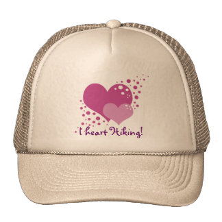 Hearts And Bubbles Trucker Hat