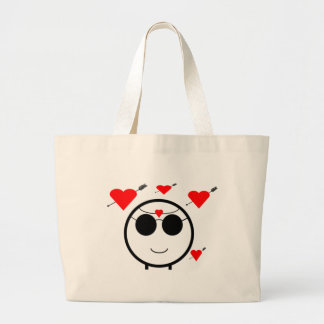 Hearts And Cupid Tote Bag