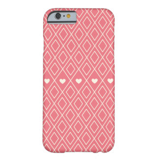 Hearts and Diamonds Barely There iPhone 6 Case