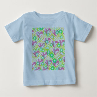 Hearts And Flares Baby T-Shirt