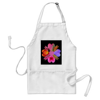 Hearts and Flowers Adult Apron