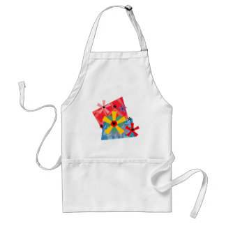 Hearts and Flowers Geometric - Customisable Standard Apron