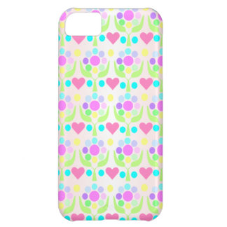 Hearts and Flowers iPhone5 Case