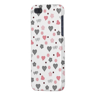 hearts and flowers iPhone 5 covers